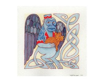 Flying Monkey, Celtic Art