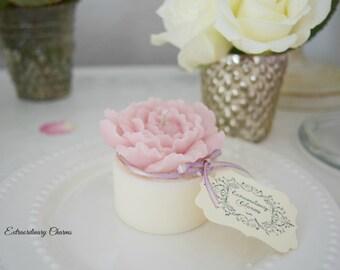Romantic Flower Candle(Peony)  *  Sweetie
