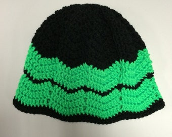 Chevron Beanie Custom Colors Available