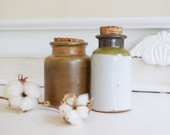 vintage ceramic jars