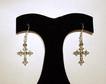 Earrings Cross ER44