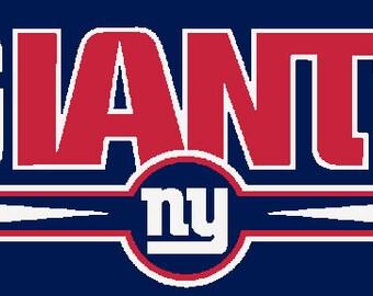 New York Giants- 3 Colors