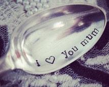 I love You Mum Vintage Teaspoon