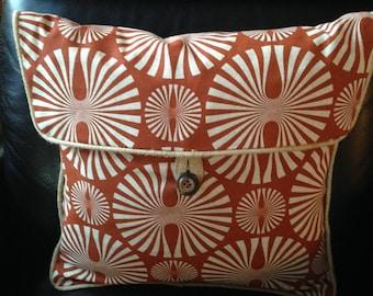 """Pillow Cover with unique flap button closure 15""""X15"""""""