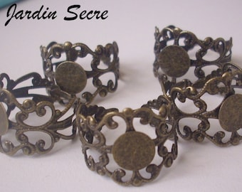 20 ring bronze lace - 8 mm shelf supports