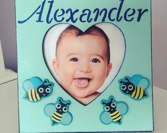 Customized Kids Picture Frame Personalized Kids Picture Frame Personalized Gift Kids Picture Frame Personalized toy Kids Gift Kids Toy Toy