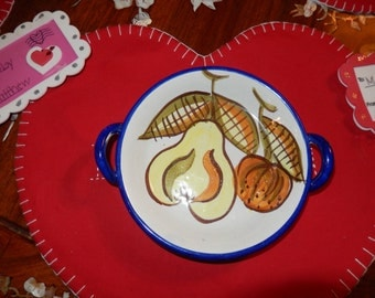 ITALY PEAR PLATE