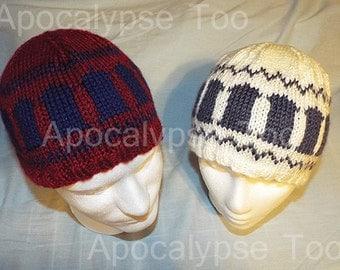 Knitted Tardis Beanie