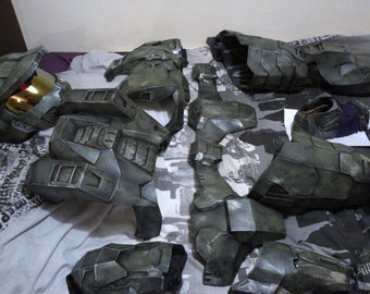 Halo 3 master chief cosplay style armor