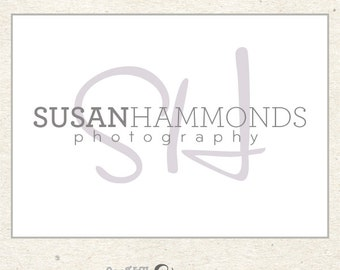 Initial Logo, Premade Logo, Custom Logo Design for Photographers and Boutiques