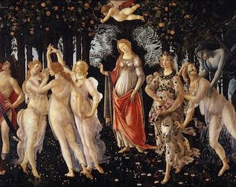 24x36 Poster; Primavera By Sandro Botticelli