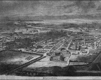 24x36 Poster; Alexandria  1859 In German