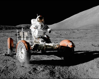 24x36 Poster; Apollo 17 Lunar Rover