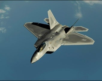 24x36 Poster; F-22 Raptor  P10