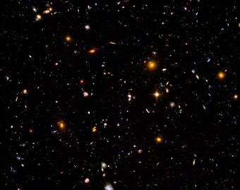 24x36 Poster; Hubble Ultra Deep Field