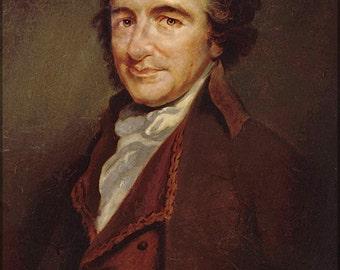24x36 Poster; Thomas Paine Author Of Common Sense