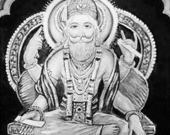 Guru Deva perfume sample, tantric natural perfume by House of Orpheus