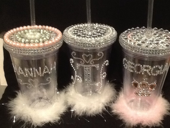 Bling sippy cups