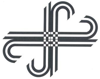 Crossings - Geometric Modern Art