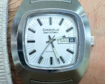 CARAVELLE watch by BULOVA day-date Automatic 70