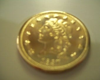 Copy of a Liberty 2.5 Dollar Gold Coin