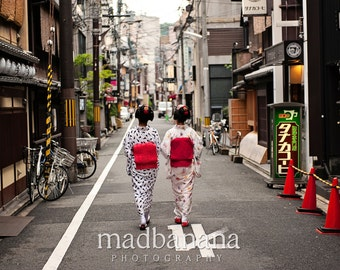 Maiko in Gion Standout Print