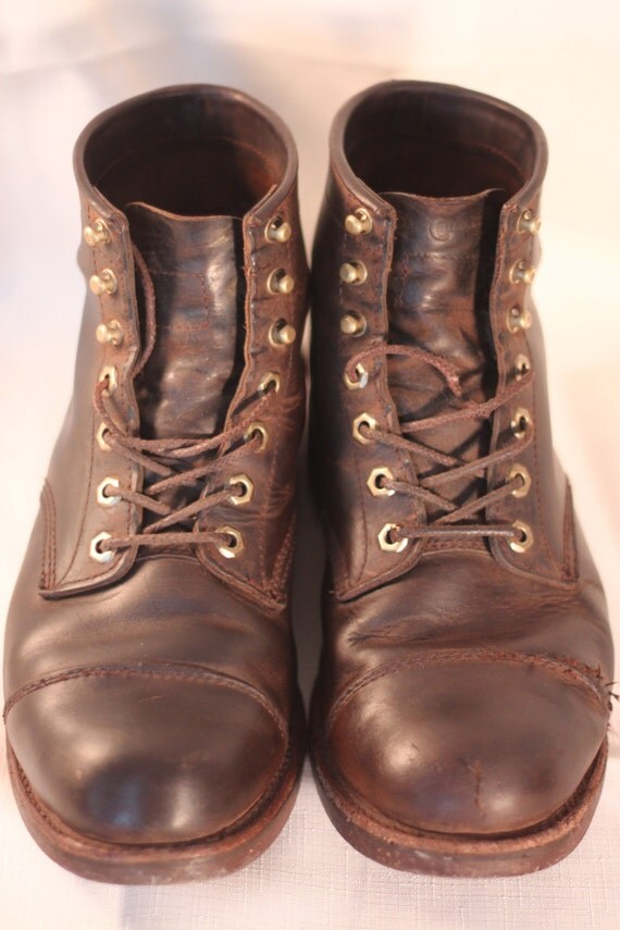 ll bean katahdin iron works engineer boots by homeecuprising