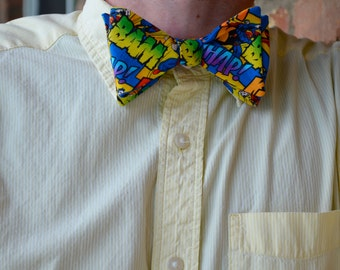Superman Adjustable Bow Tie