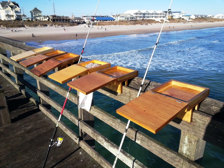 The pier bait box bait box fishing pier fishing by for Best bait for pier fishing