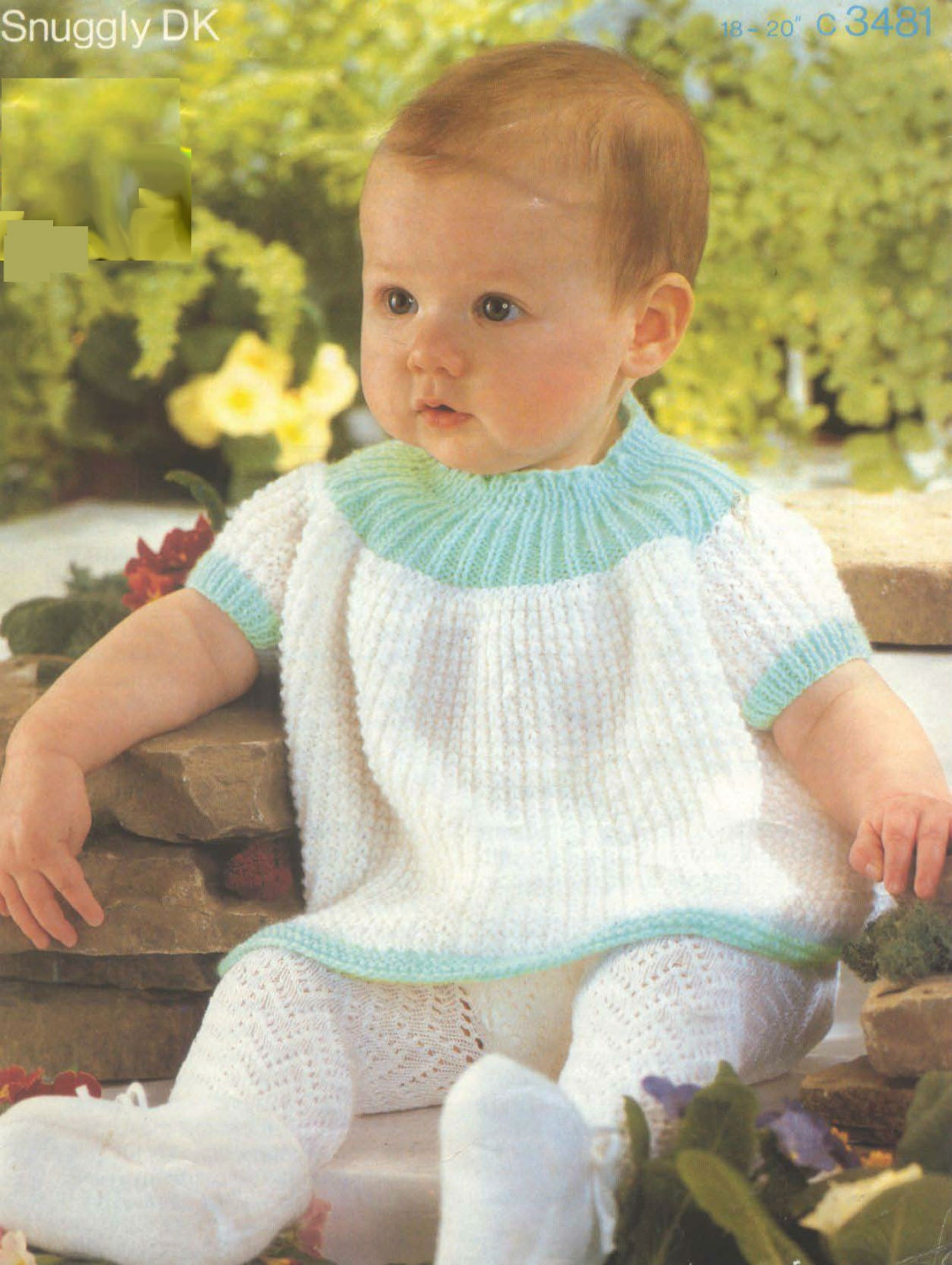 Free Knitting Pattern For Baby Angel Top : Knit Baby Angel Top Vintage Knitting Pattern by ...