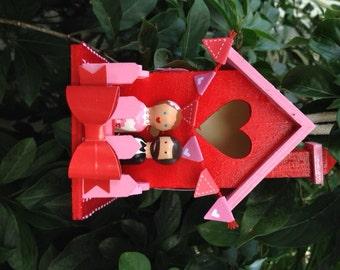 St. Valentine's Day Birdhouse