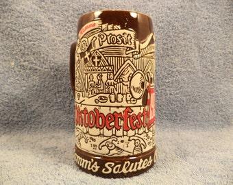 Hamm's Beer 1973 Oktoberfest Beer Mug