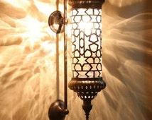 Wall Sconce Arabian Lamps Moroccan Lantern Chandelier Turkish Light Hanging Lamp Mosaic