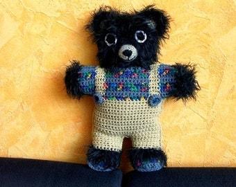 Bear crocheted