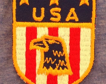 LAST ONE! USA Vintage Travel Souvenir Patch from Voyager