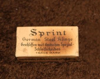 Sprint Klinge German steel razor blades