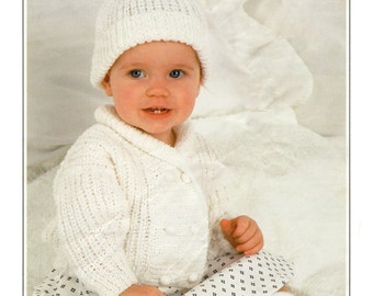 jacket and hat dk knitting pattern 99p pdf
