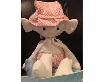 Plush Baby Elf Doll