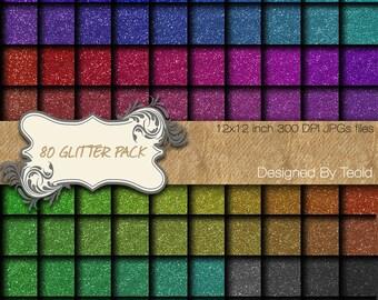 """Glitter Digital Paper Images Digital Clip Art Instant Download Graphics12x12"""" 300 dpi"""
