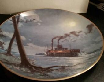 Moonlight Reflection Plate