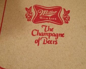 Miller High Life Beer Coasters