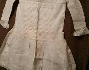 Vintage 1884 Girls Dress