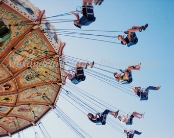 fair ride color photo photography