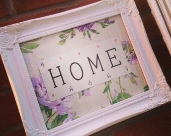 Home Lexicon Vintage Card Frame