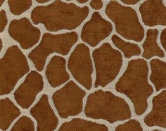 Upholstery Fabric, DraperyFabric, Home Decor Fabric, Animal/Giraffe Fabric, Chenille Fabric, Fabric By The Yard, Home Decor Fabric
