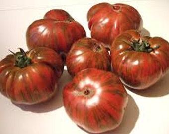 Chocolate Striped Tomato seeds