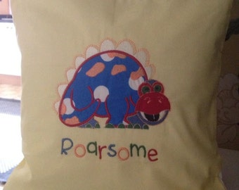 Child's Embroidered Cushion