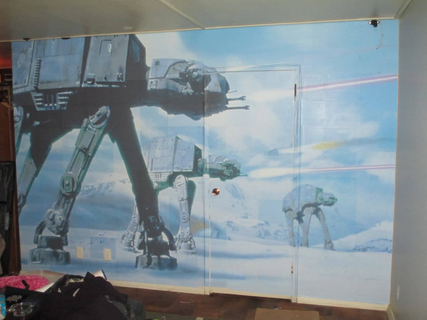Star Wars Empire Strikes Back Imperial Walker Giant Photo