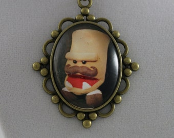 """Foe the Destroyer: """"Locket"""" - Cameo Necklace"""
