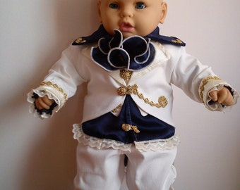 "Baby Boy Outfit Set ""Ludovic""-Christening,Baptism,Events"